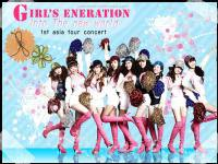 SNSD In to The new world ...