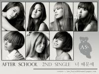 After School  2nd Single  너 때문에