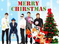 we wish you a ' MERRY CHIRSTMAS ' by ' BIGBANG '