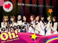 SNSD NEW CHOCOLATE!  AND OH!