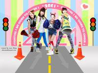 2NE1 - Try To Follow Me.We Come To Cheer !!
