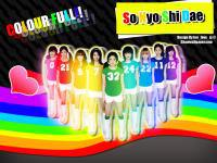 SNSD COLOUR FULL!!