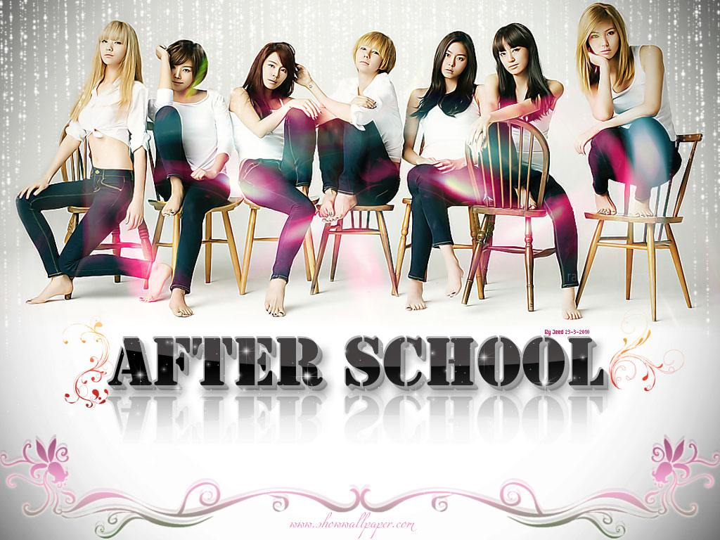 After School K Pop Cute Korean Girls Review And Wallpapers