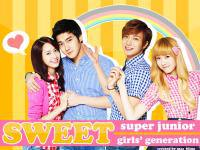 SNSD & SJ - Spao Sweet Couple