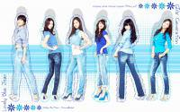 Lovely Blue SNSD