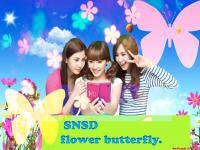 SNSD Flower ButterFly.