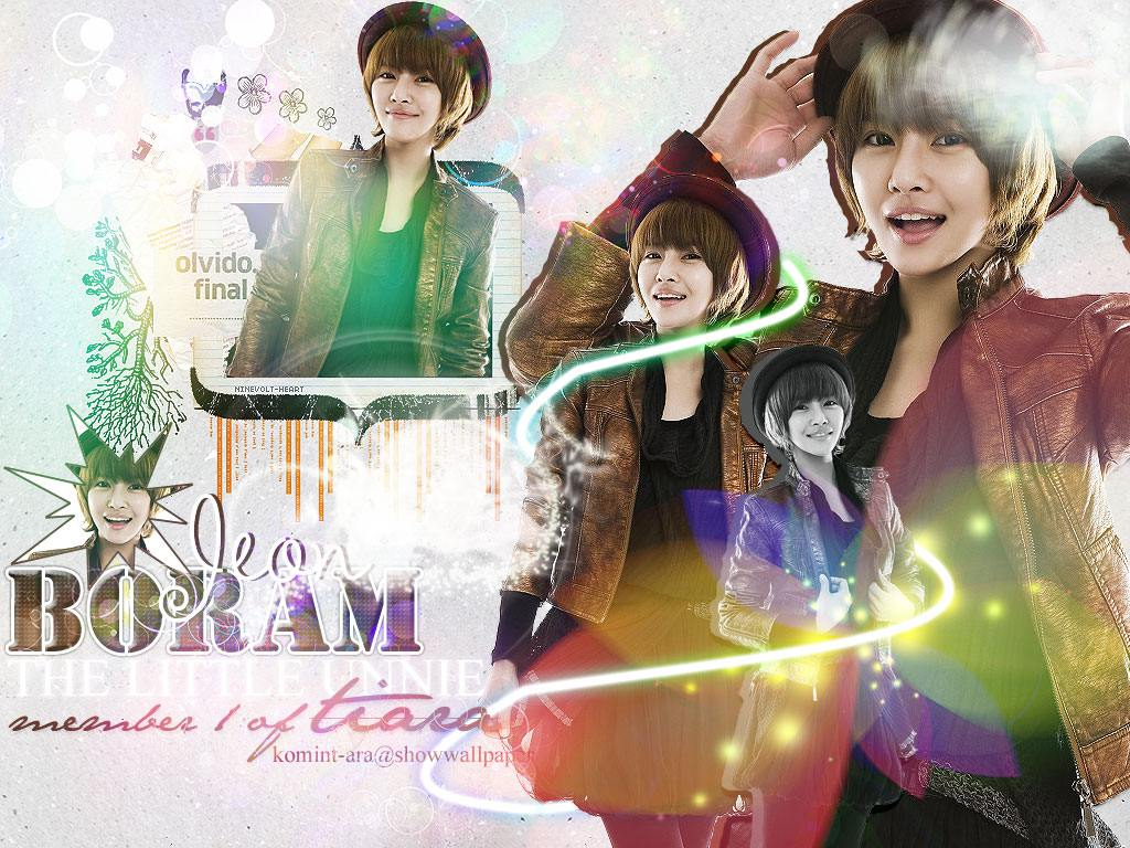 Like The 1st ' Boram T-ara Wallpaper