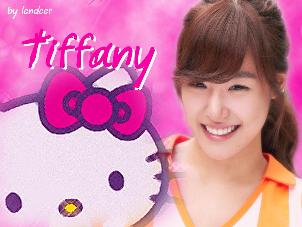 SNSD-Tiffany Wallpaper