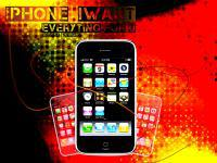 iphone iwant graphic wallpaper