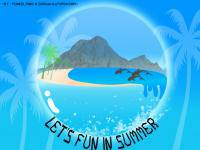 Let's Fun in summer