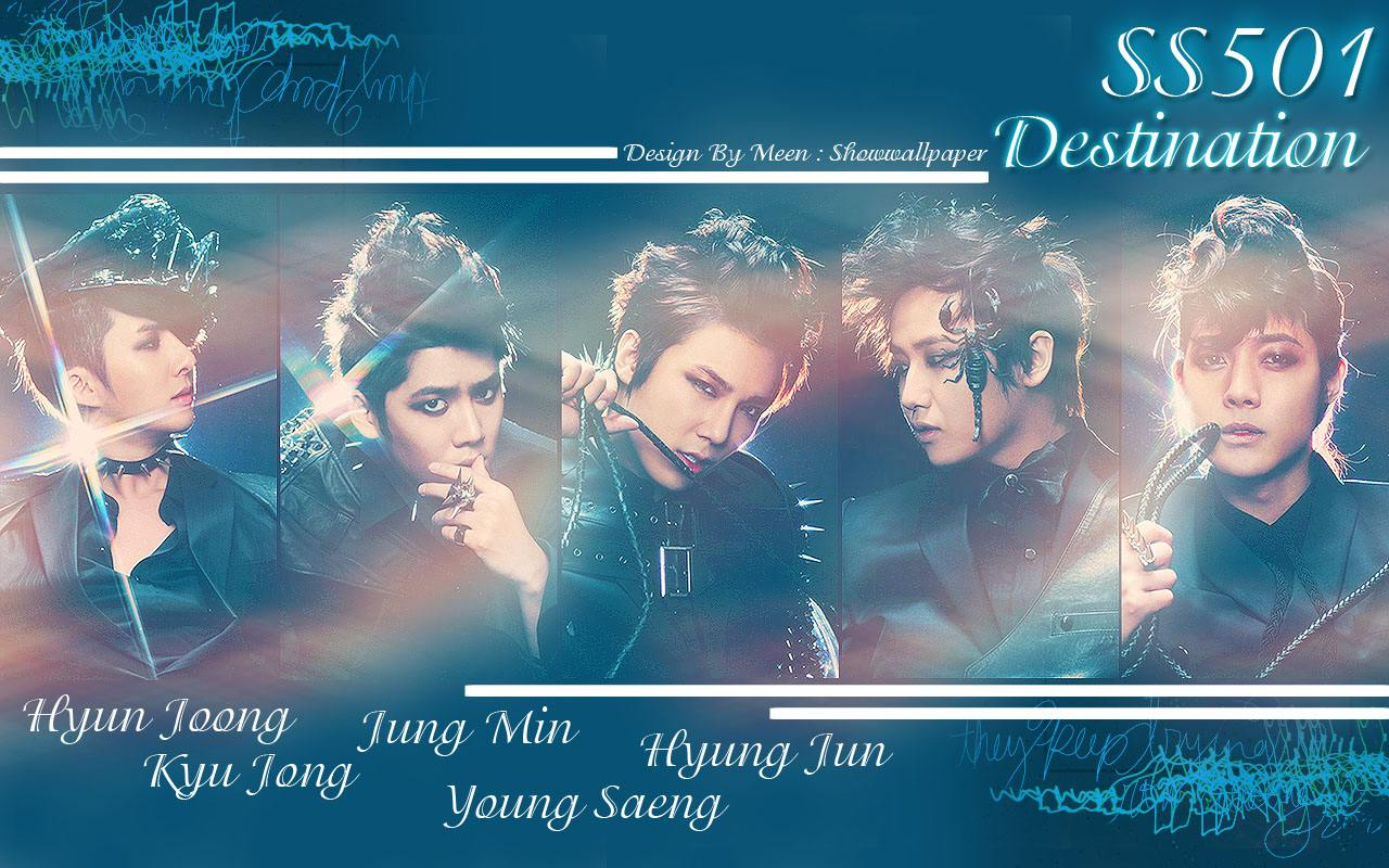 SS501 : Destination Wallpaper