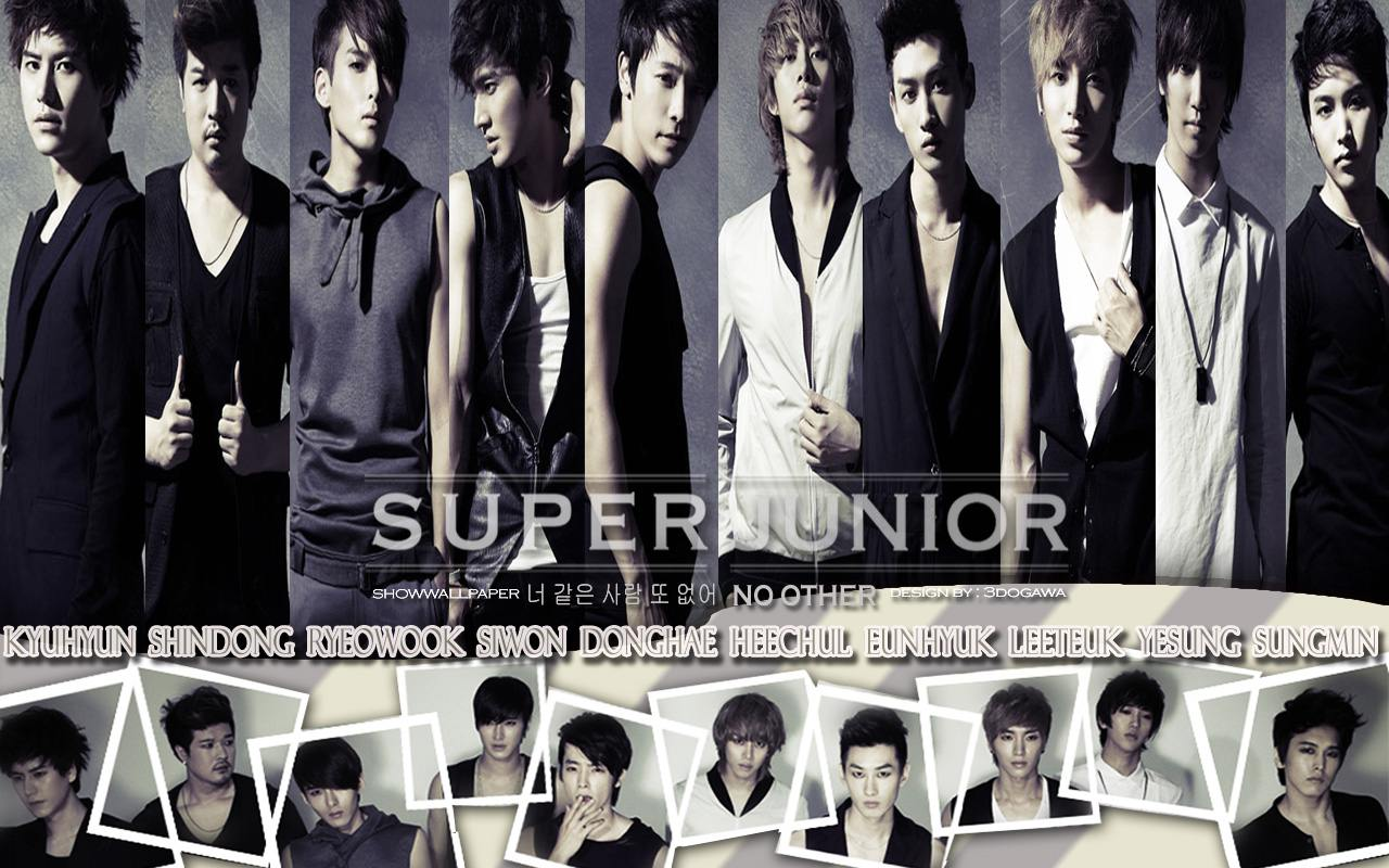 Super Junior quot;No Otherquot; ver 2 Wallpaper