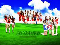 "Girls Generation ""Korea Fighting !"" ver.1"