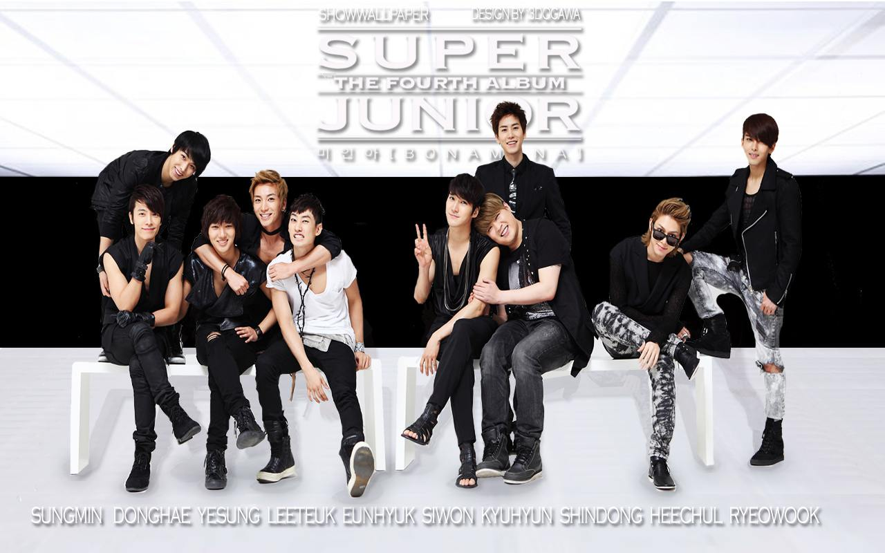 Super Junior quot;BONAMANAquot; Wallpaper