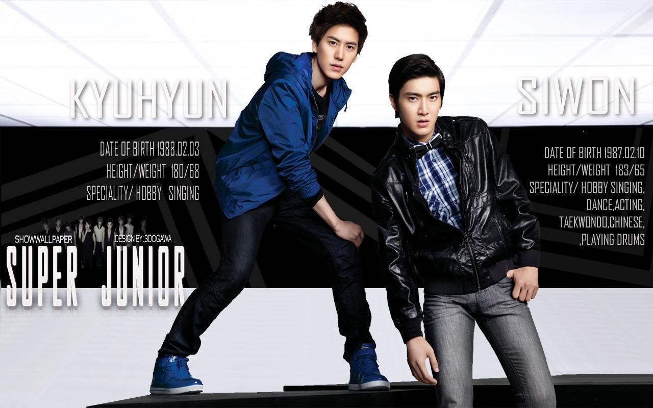 Siwon Super Junior Kyuhyun  newhairstylesformen2014.com