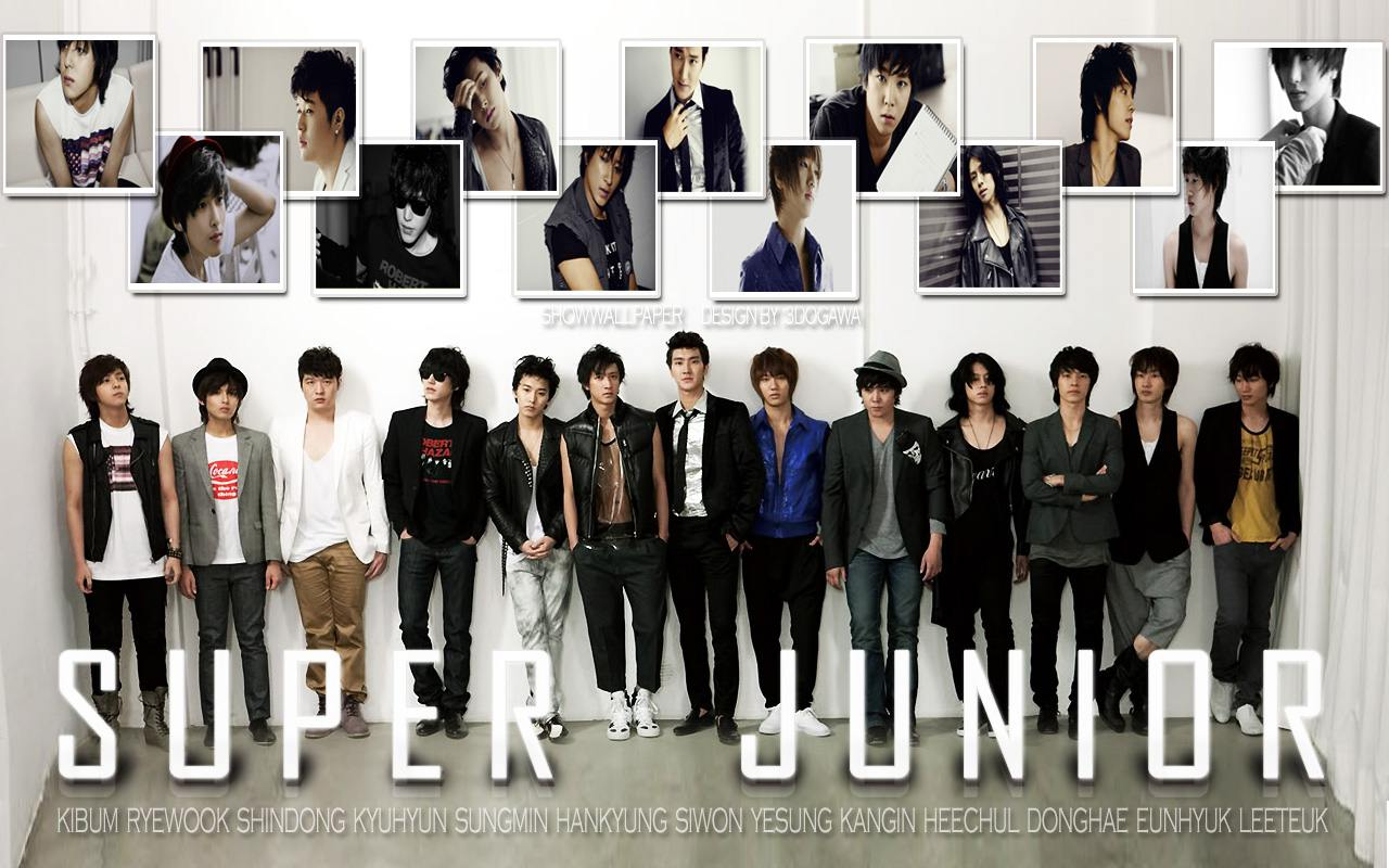 Super Junior Wallpaper : [KPOP] Super Junior デスクトップ