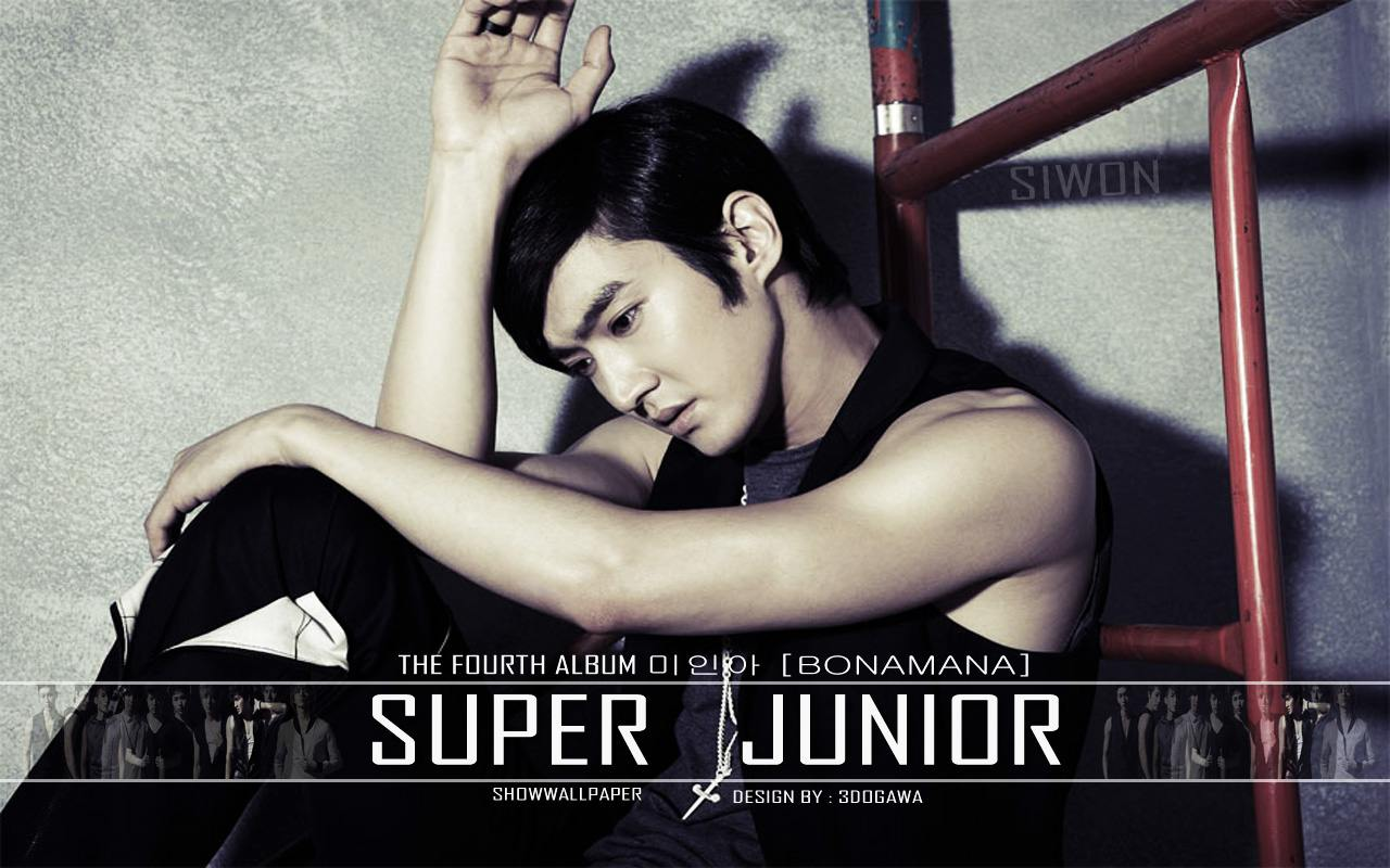 Super Junior quot;No Other quot; Siwon Wallpaper