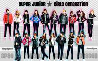 Super Junior and Girls' Generation