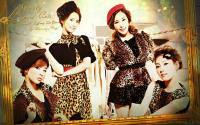 SNSD Lovely Leopard Cats [Cosmopolitan magazine]