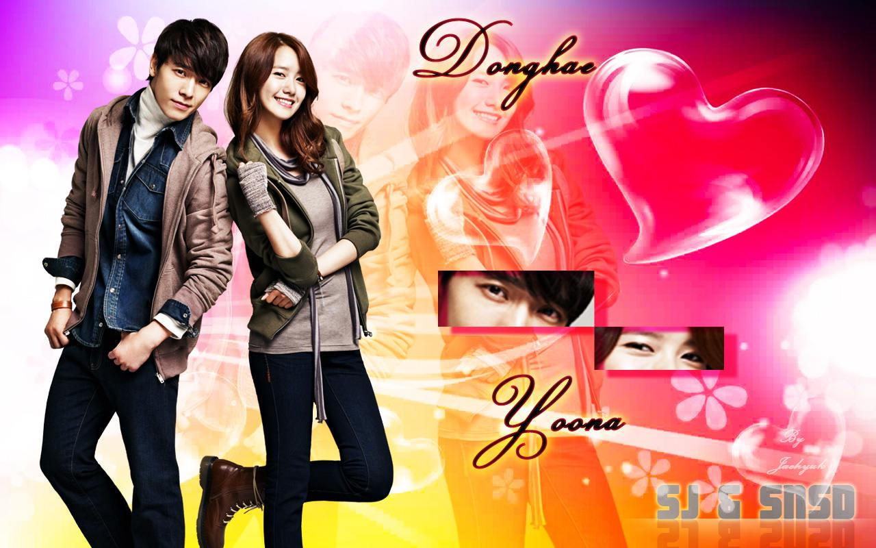 Yoona and donghae dating