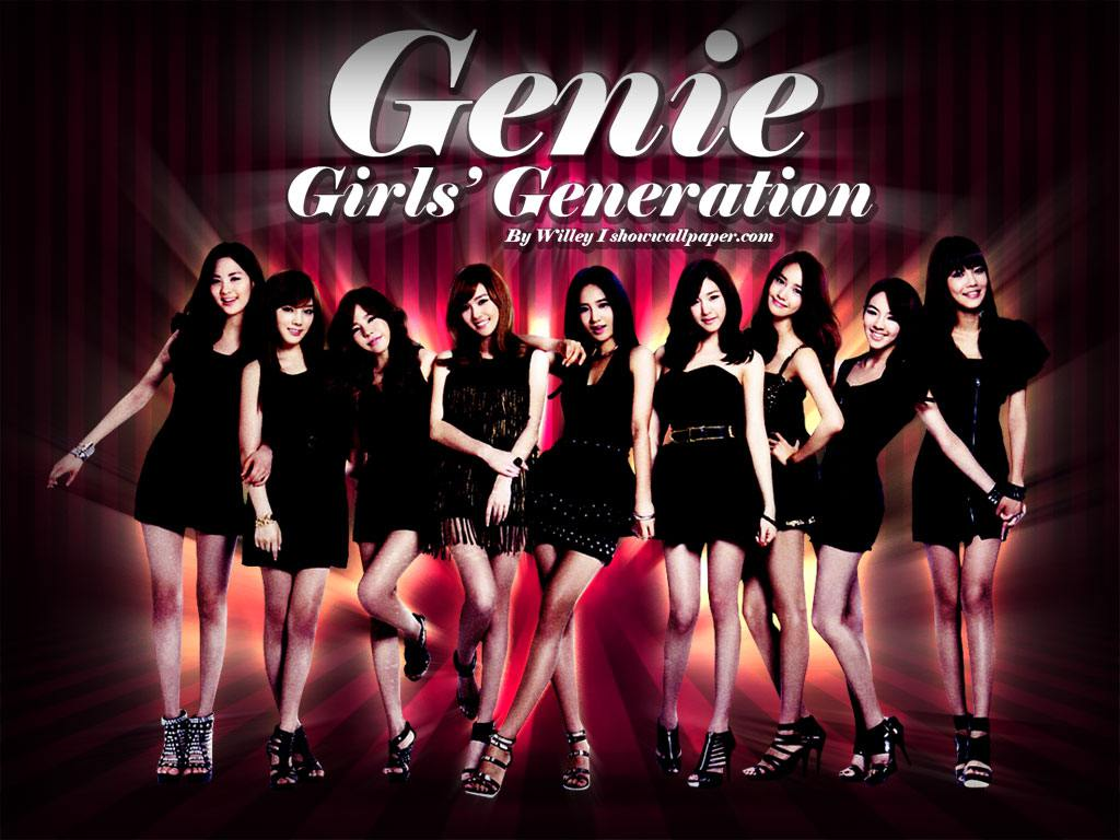 SNSD Genie Japanese Ver 4 Wallpaper