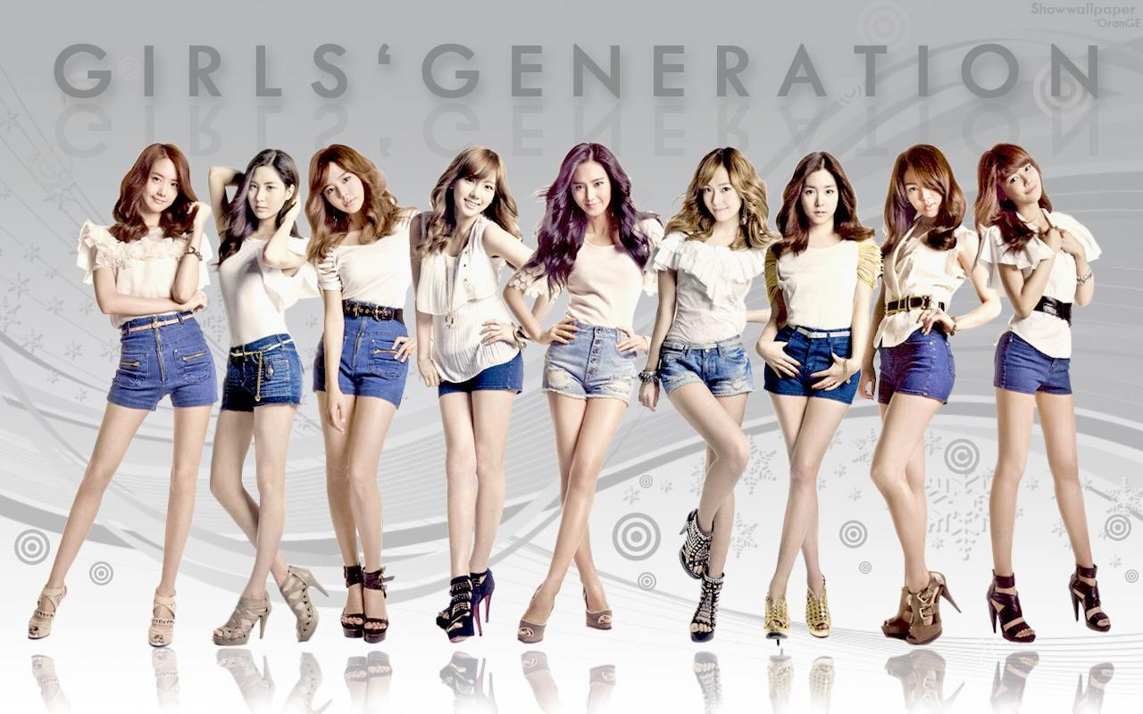 Girls'Generation- Genie Japan Debut Album Wallpaper by S-O-M