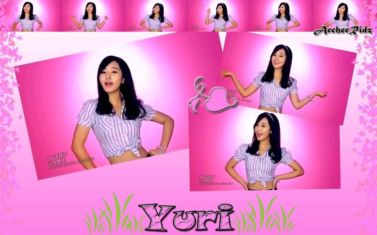 Yuri (SNSD Genie) Wall...
