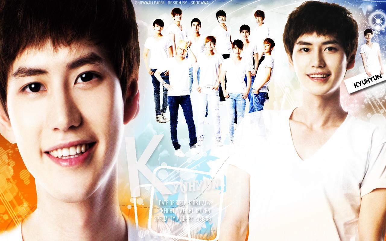 Super Junior quot;Kyuhyunquot; Wallpaper