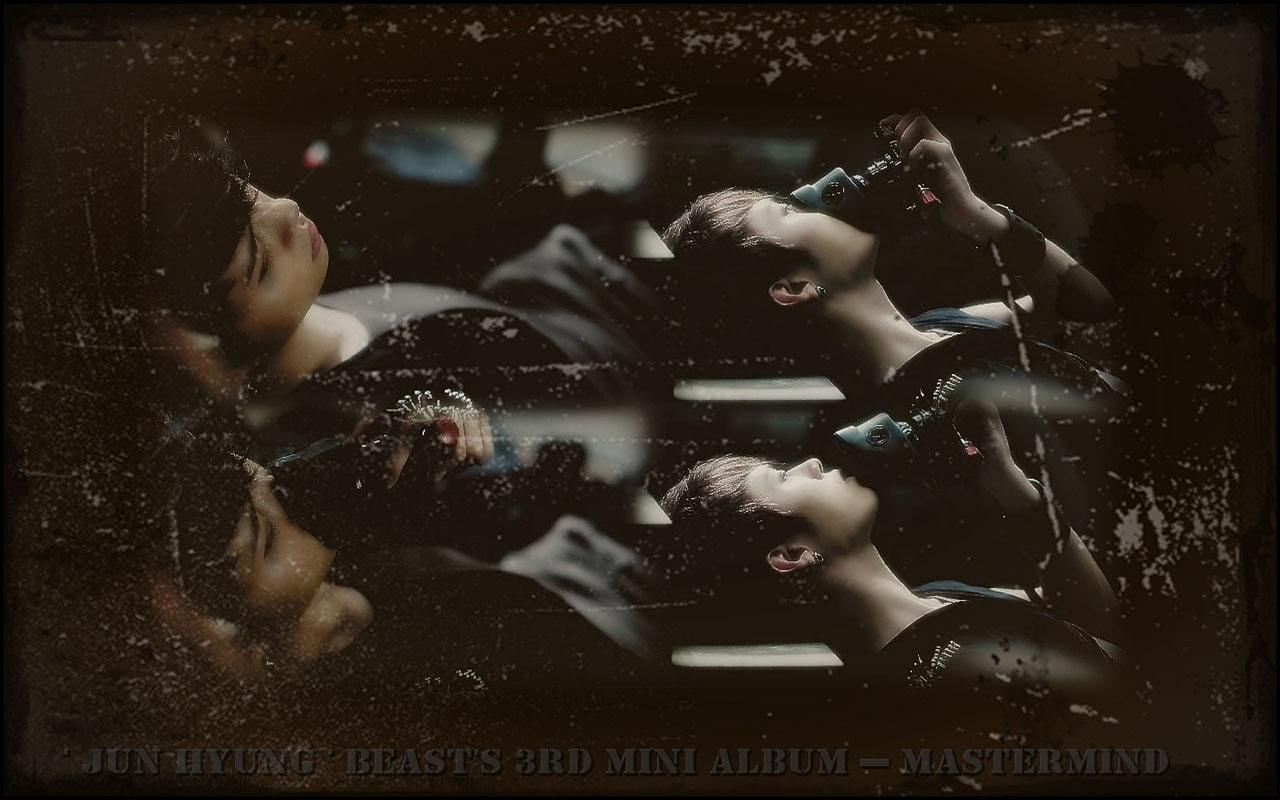 BEAST 39; Jun Hyung 39; BEAST39;S 3rd Mini Album  Mastermind Wallpaper