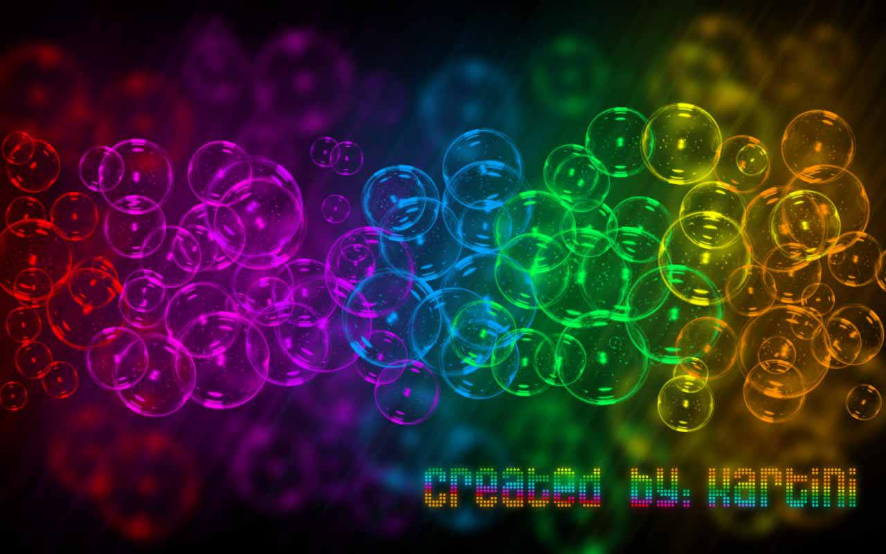 View Full Size | More rainbow bubble wallpaper | Source Link