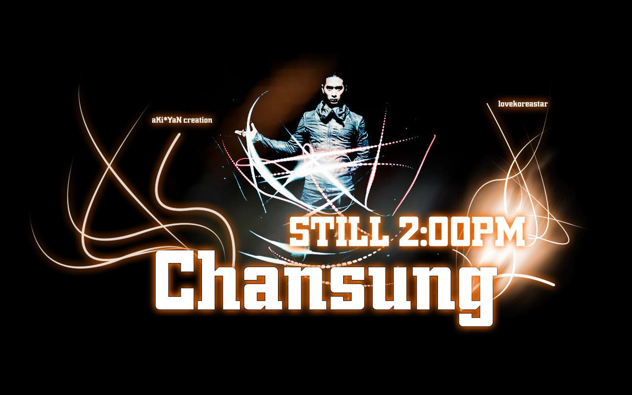 Chansung @ 2PM Wallpaper 1 [widescreen] Wallpaper