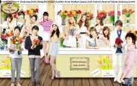 Ang 300 Wallpaper [TVXQ&SNSD flower shop]