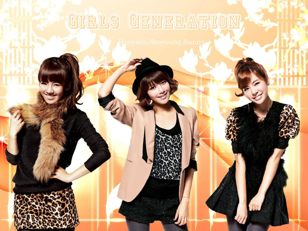 Girls generation hyoyeon sooyoung sunny wallpaper