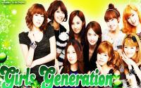 "Girls Generation : ""Go Go Green !"""