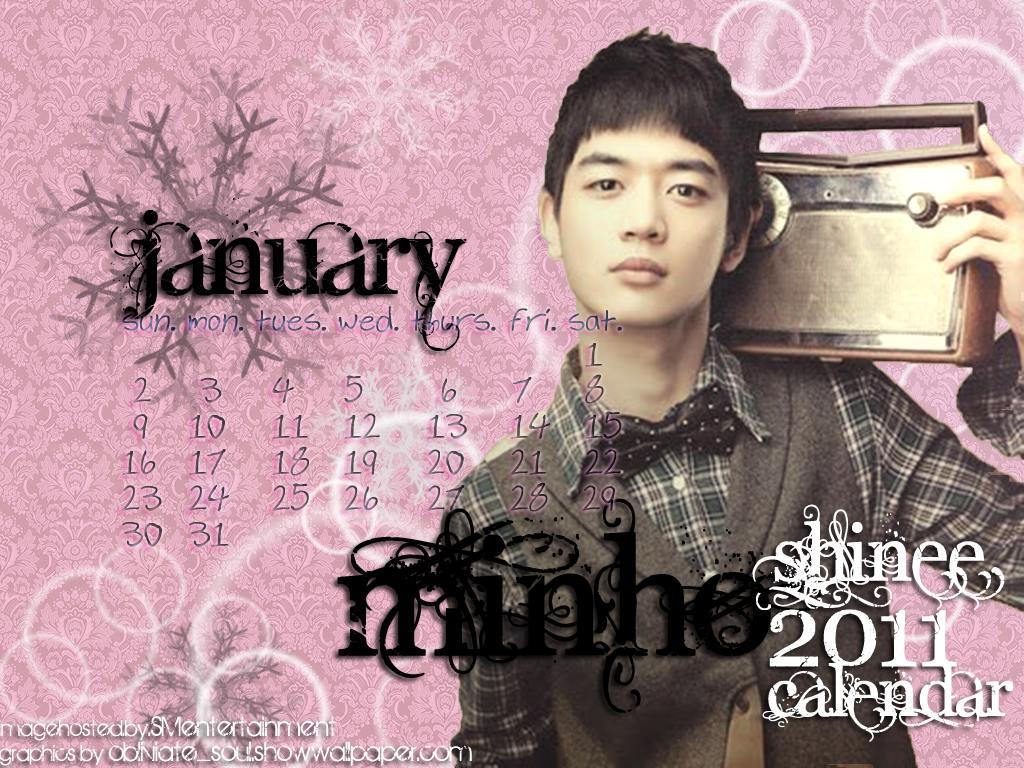 MYShawols (MSW): [SCANS]SHINee Calendar 2011