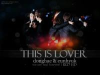 donghae & eunhyuk l ' THIS IS LOVER