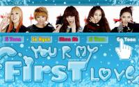 4minute : first love