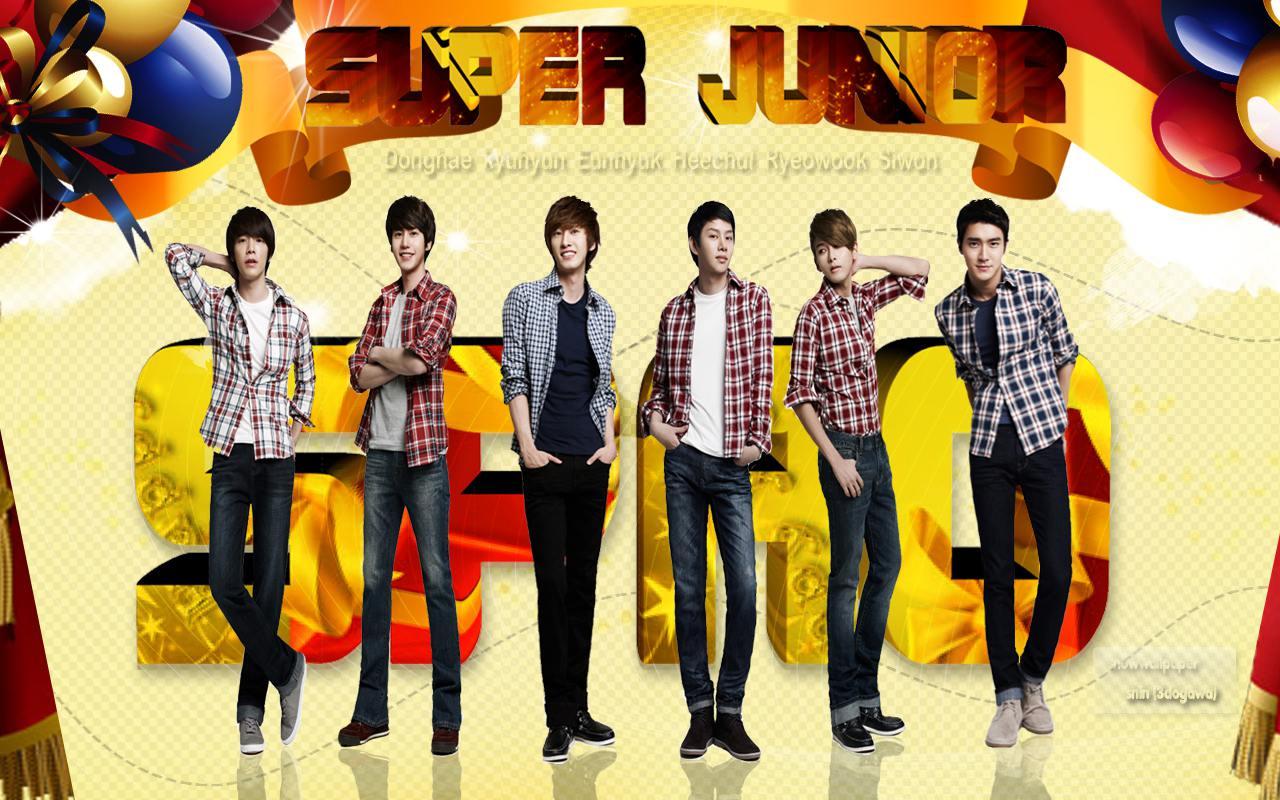 Super Junior Star Jeans Spao | Wallpaper Lucu