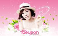 "SNSD : Happy Birth Day "" Taeyeon "" W"