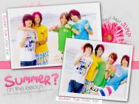 {Hey! Say! JUMP} Summer? on the beach >
