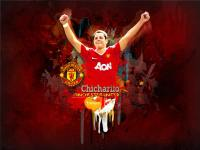 "Chicharito ""Manchester United"""