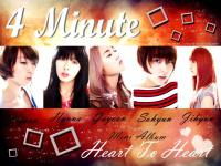 4Minute_Heart to Heart
