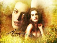 Anne Hathaway with meadow