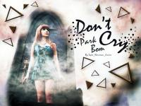 Park Bom_Don't Cry :: Set 2