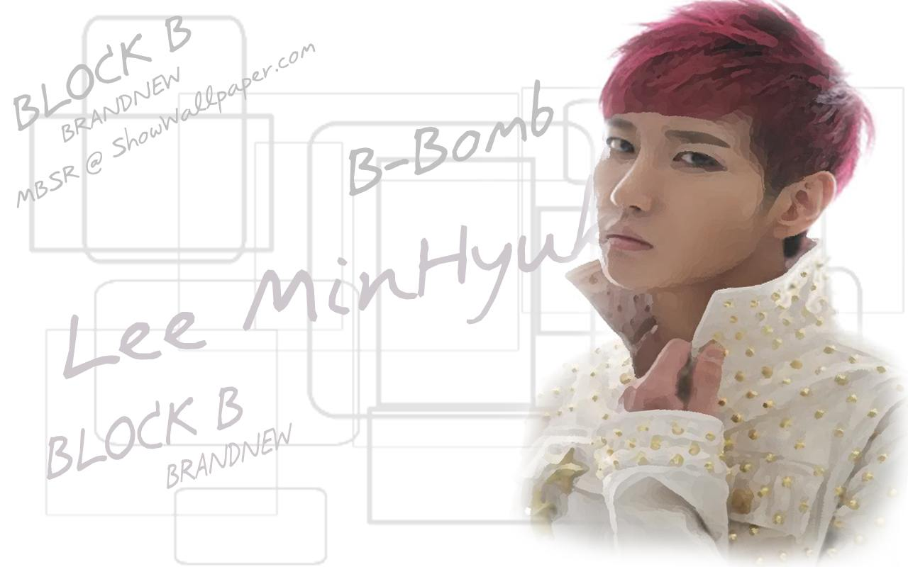 Lee MinHyuk : BLOCK B Wallpaper