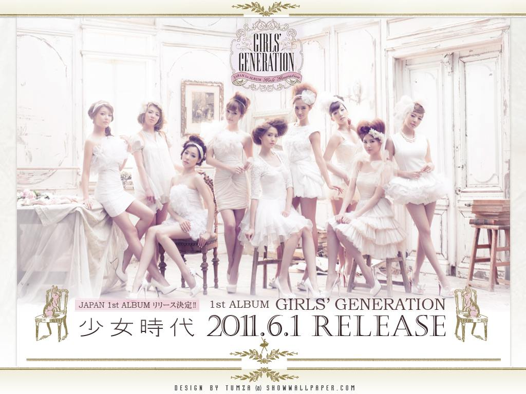 Girls Generation Album Snsd Japan 1st Album Girls'