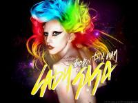 - Lady Gaga ' Born This Way' colorful