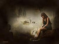 Don't cry ' Bom (art pic)