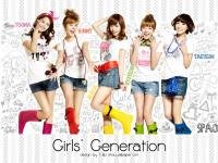 Girls' generation - spao color boot white ver.
