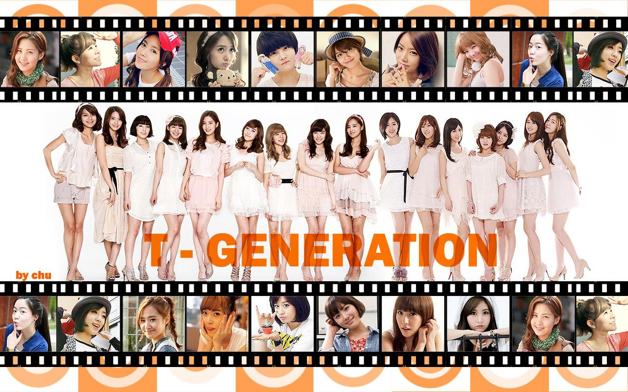 "SNSD & T-Ara ""T-Generation"" Wallpaper by Chu"